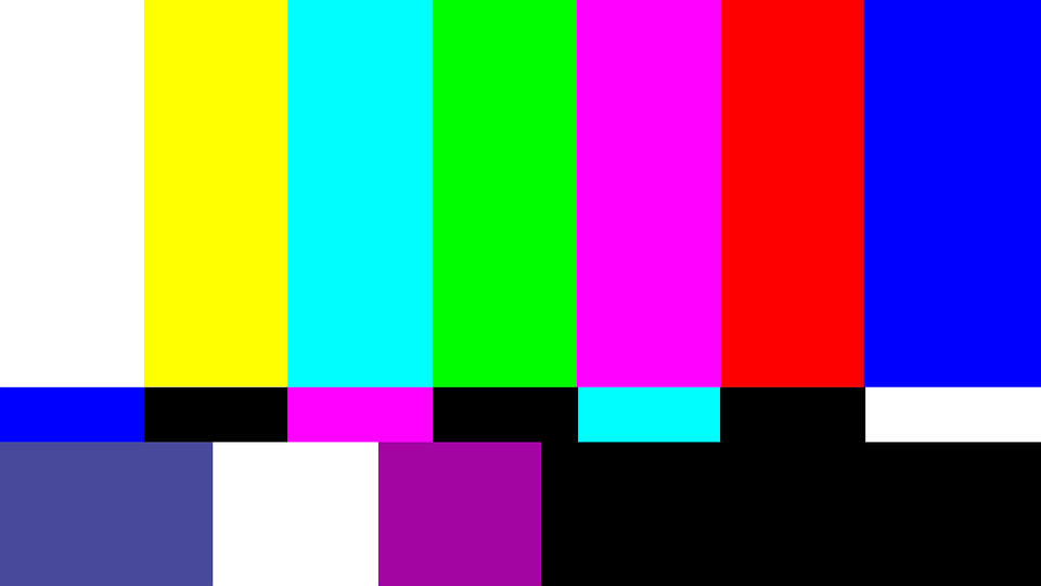 هذه اللقطة لضبط الألوان والصورة
