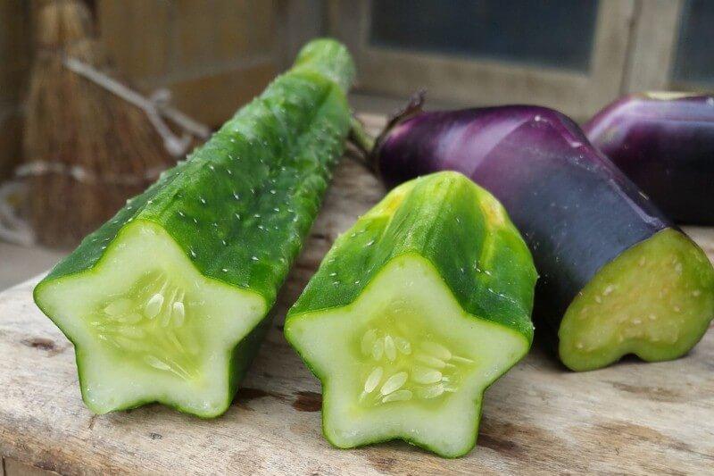 فواكه وخضروات بأشكال غريبة 7