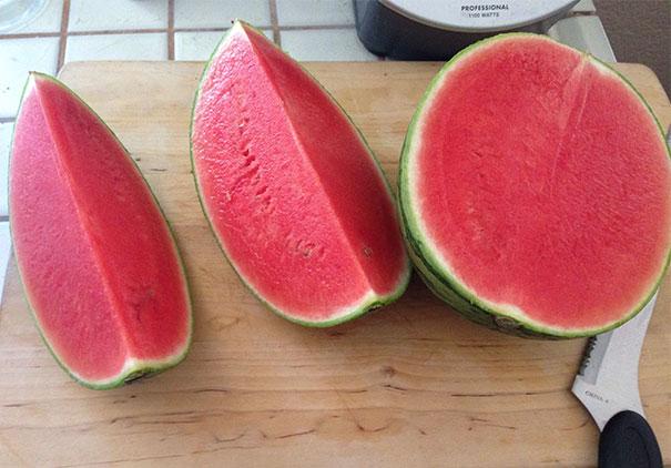 قمة الحظ في البطيخ