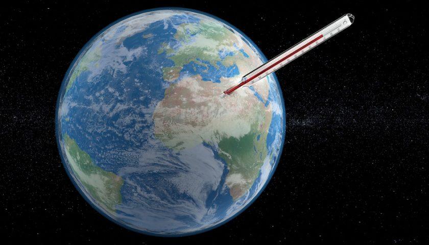 درجة حرارة الأرض