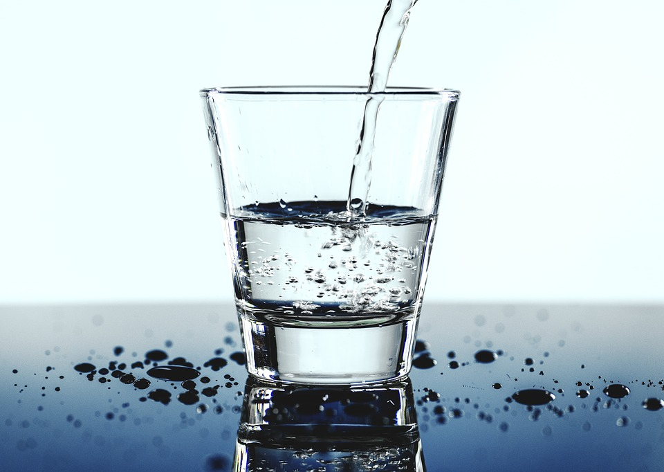 جدول شرب الماء