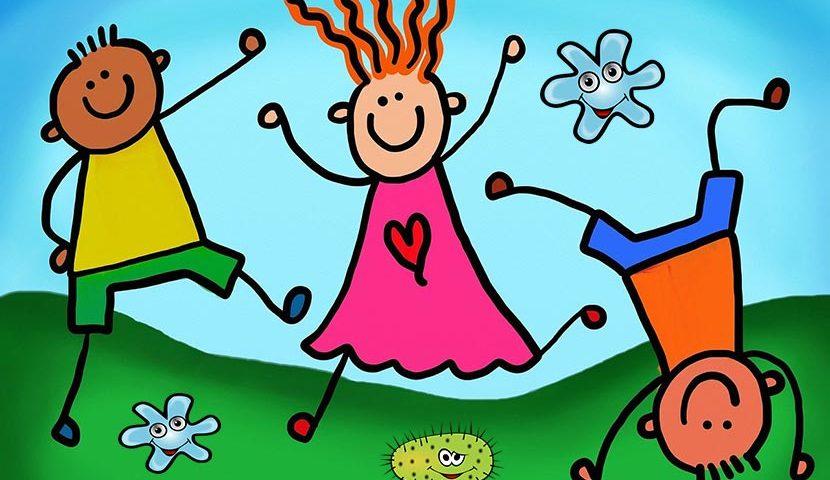 البكتيريا النافعة للأطفال